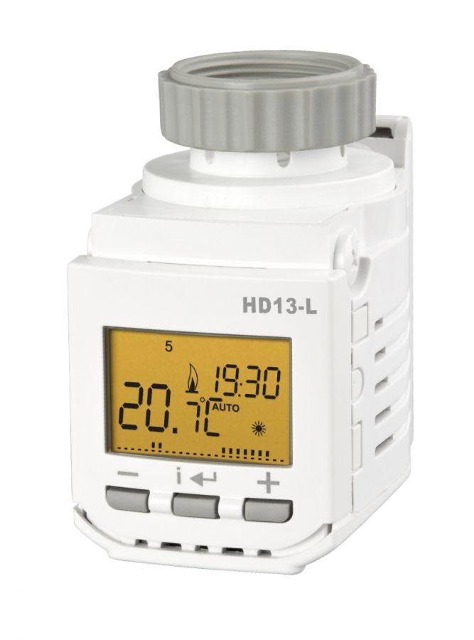 Elektrobock HD13-L digitálna termostatická hlavica