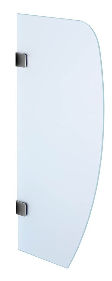 Sapho 2502-05 deliaca pisoárová stena 80x40 cm, bezpečnostné sklo