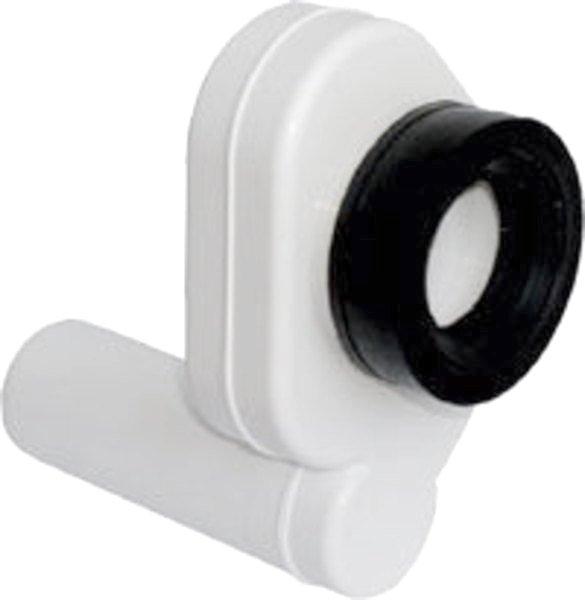 Pisoárový sifón, zadný, odsávací, odpad 50mm, plast