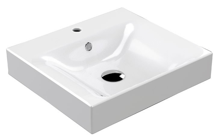 Kerasan Cento keramické umývadlo 50x45 cm