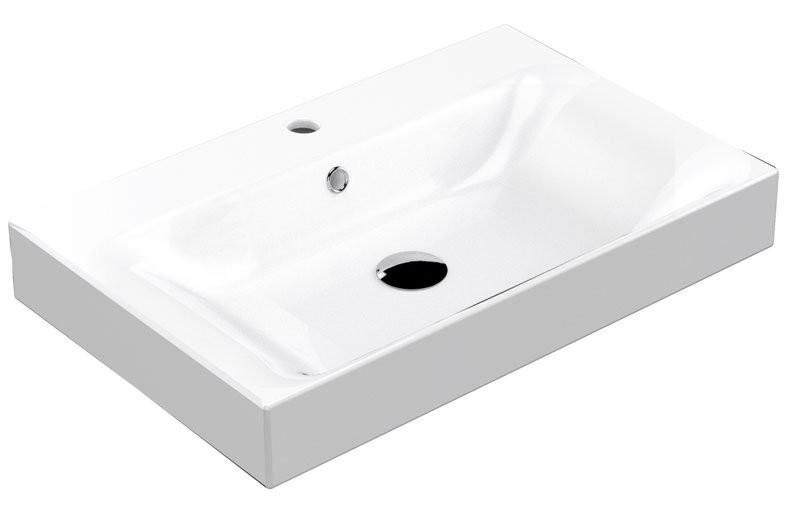 Kerasan Cento keramické umývadlo 60x45 cm
