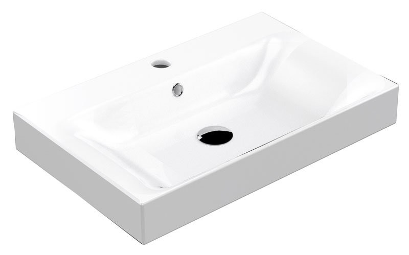 Kerasan Cento keramické umývadlo 70x45 cm
