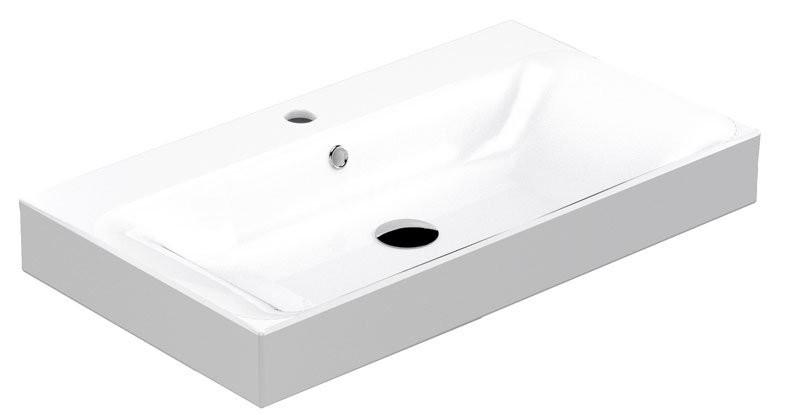 Kerasan Cento keramické umývadlo 80x45 cm
