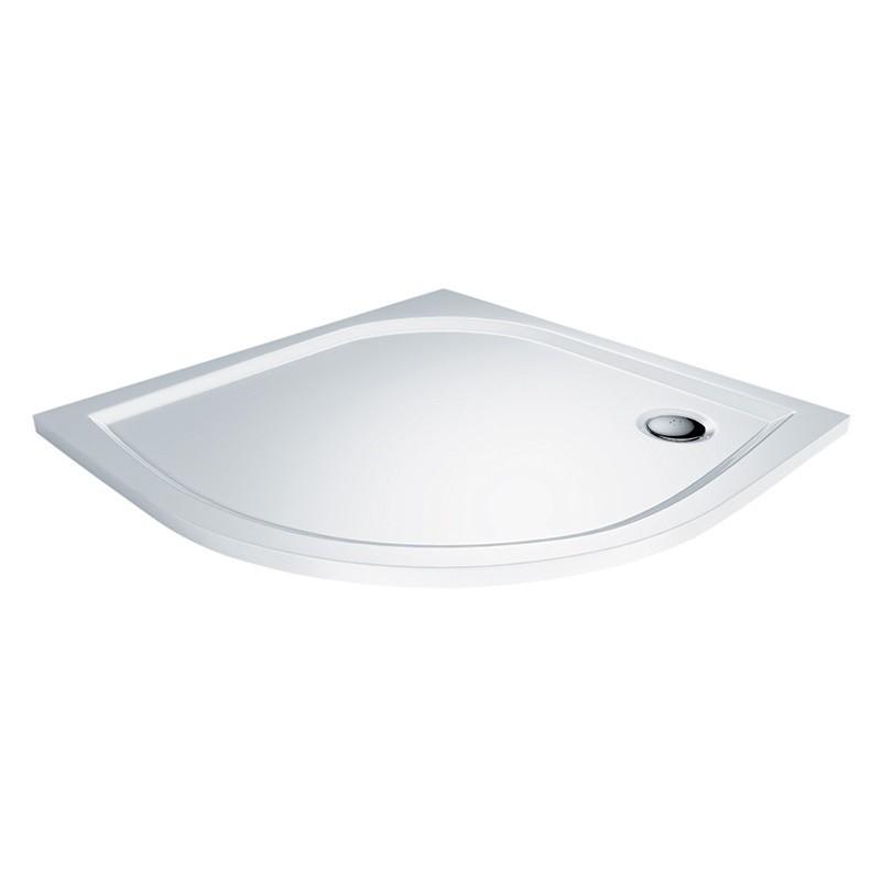 Mereo CV05M sprchová vanička, 90x90x3 cm, liaty mramor