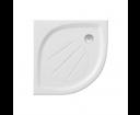 Štvrťkruhové sprchové vaničky