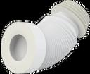 Alcaplast A97S flexi napojenie k WC krátke