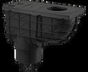 Alcaplast AGV1 lapač spodný čierny 300 × 155/110