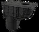 Alcaplast AGV2 lapač spodný čierny 300 × 155/125