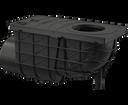 Alcaplast AGV3 lapač bočný čierny 300 × 155/110