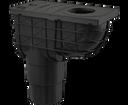 Alcaplast AGV4 lapač spodný čierny 300 × 155/125/110