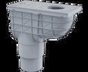 Alcaplast AGV4S lapač spodný šedý 300 × 155/125/110