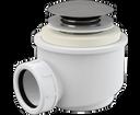 Alcaplast sifón A465 click-clack do sprchovej vaničky, priemer 50 mm