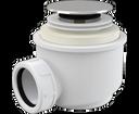 Alcaplast sifón A466 click-clack do sprchovej vaničky, priemer 50 mm