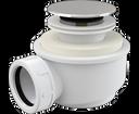 Alcaplast sifón A476 click-clack do sprchovej vaničky, priemer 50 mm