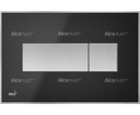 Alcaplast tlačítko M1375 čierne matné