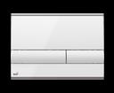 Alcaplast tlačítko M1710 biele