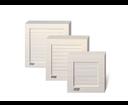 Cata ventilátor B-10 Matic biely, Axiálny, automatická žalúzia 00915000