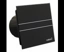 Cata ventilátor E-100 G BK Standard s čiernym skleneným čelným krytom