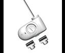 Cordivari elektrická vykurovacia tyč s termostatom 600W biela 5102000000475