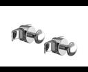 Cordivari háčik pre rebríkový radiátor chrómový (sada 2 ks) 5991990310303