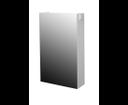 EDEN skrinka PX 21/P M1F1 biela/biela zrkadlová pravá 40x70x16,5