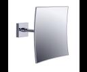 Emco System 2 109500107 kozmetické zrkadlo nástenné hranaté