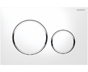 Geberit tlačidlo Sigma20 115.882.KJ.1 biela/lesklý chróm/biela