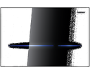 Geberit tlačidlo Sigma80 116.090.SG.1 čierne sklo bezdotykové elektronické