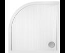 Glass 1989 Flat 800 x 800 štvrťkruhová sprchová vanička