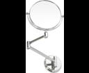 Omega 106301122 závesné kozmetické zrkadlo priemer 150mm, chróm