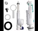 Kerasan 750990 EGO-FLO-CENTO-RETRO úsporný splachovací mechanismus na WC kombi, chróm