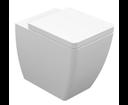 Kerasan Ego 321601 WC misa 36x43x53cm, spodný/zadný odpad