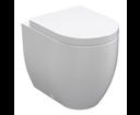 Kerasan Flo 311601 WC misa 36x42x51,5cm, spodný/zadný odpad