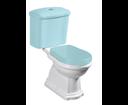 Kerasan Retro 101201 WC kombi misa 38,5x41x72cm, spodný odpad