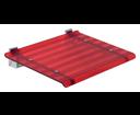 Leo 5368R sprchové sedátko 40x31cm, červené