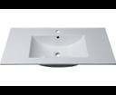 Slim 1601-90 keramické umývadlo 90x46cm, nábytkové