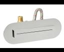 Sapho SH1003 vodopád Stream oválny k zápustnej inštalácii do sprchovacích kútov 260x90x57mm