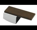 Reitano LEDM Decormax páčka, chróm/drevo