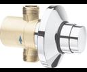 Quik QK11051 tlačný podomietkový pisoárový ventil, chróm