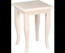 Retro 1683 stolička 33x45x33cm, starobiela