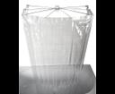 Ombrella 58200 skladacia sprchová kabína, 100x70cm, priehľadná