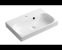 Joy FDT-537 umývadlo 50x37cm, liaty mramor, biele
