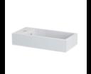 Thiema 460511 umývadlo 50x10x25cm, liaty mramor, biele