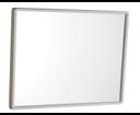 Aqualine 22436 zrkadlo v plastovom ráme 40x30 cm, biele