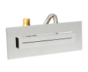 Sapho SH1002 vodopád Stream hranatý k zápustnej inštalácii do sprchovacích kútov 240x90x57mm