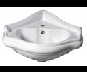 Kerasan Retro 103201 keramické umývadlo 57,5x58cm, rohové