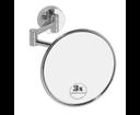 Omega 112101521 kozmetické zrkadlo bez osvetlenia, priemer 140mm, chróm