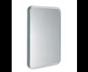 Float 22572 zaoblené zrkadlo v ráme s LED osvetlením 60x80 cm