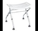 Ridder A0050301 kúpeľňová stolička, sklopná, biela