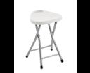 Sapho CO75 kúpeľňová stolička 30x46,5x29,3 cm, biela